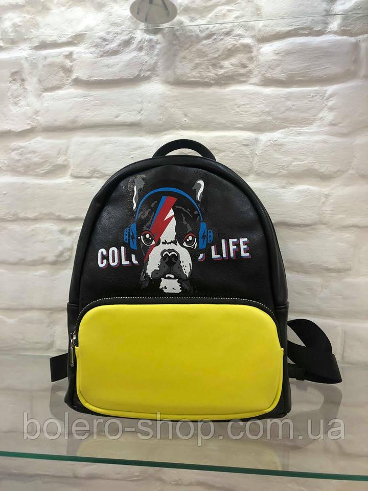 Рюкзак Италия  черный  Color Life