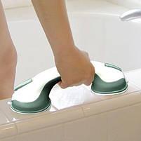 Ручка поручень на вакуумных присосках для ванной Helping Handle, фото 8