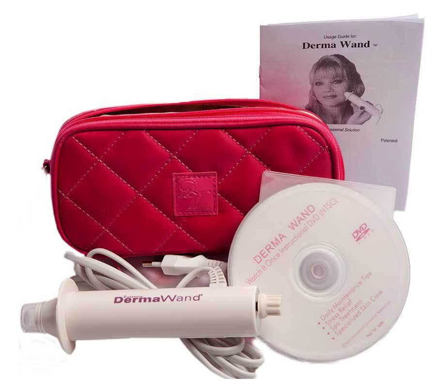 Прибор для разглаживания морщин Derma Wand | Массажер для лица