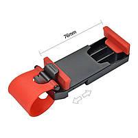 Автомобильный держатель GBX для телефона на руль авто   Крепление для смартфона на руль, фото 10