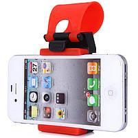 Автомобильный держатель GBX для телефона на руль авто   Крепление для смартфона на руль, фото 6