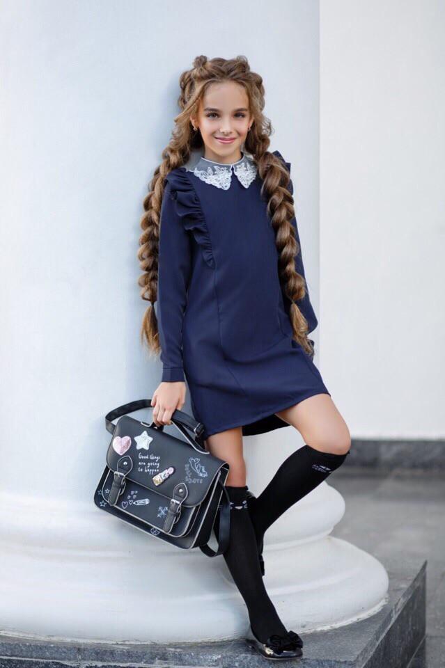 Платье(сарафан)школьное для девочки 134,140,146,152