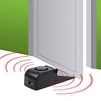 Дверная сигнализация Door Stop Alarm с датчиком вибрации и звуком сигнализации 120 дБ, фото 5