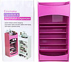 Органайзер для хранения косметики COSMAKE LIPSTICK & NAIL POLISH ORGANIZER   Розовый, фото 3
