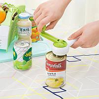 Универсальная открывалка консервных банок Kitchen CanDo 8-in-1, фото 3