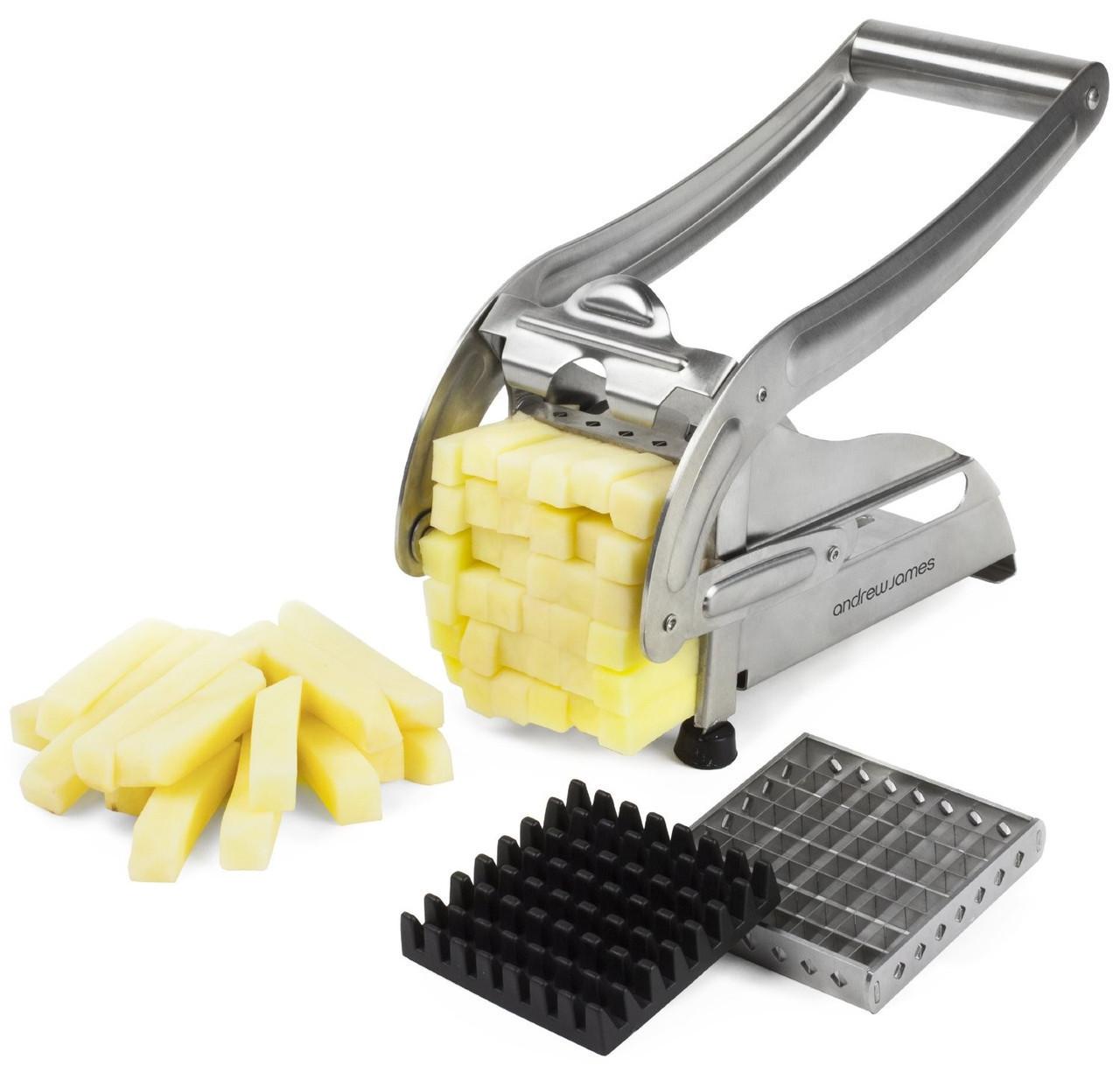 Машинка для нарезки картофеля соломкой Potato Chipper | Картофелерезка | Прибор для нарезки картофеля фри