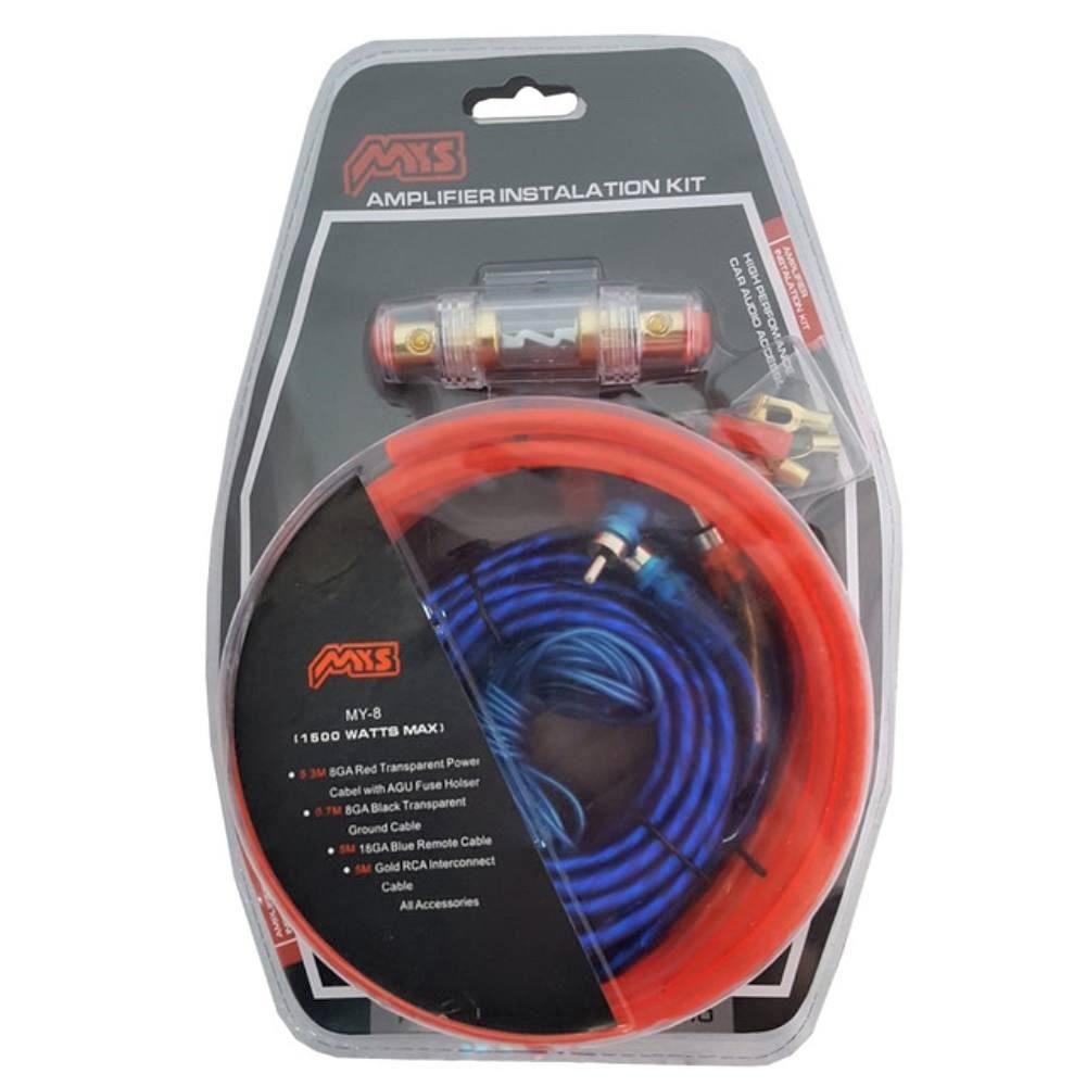 Комплект проводів для сабвуфера X9 | Дроти для підключення підсилювача для сабвуфера