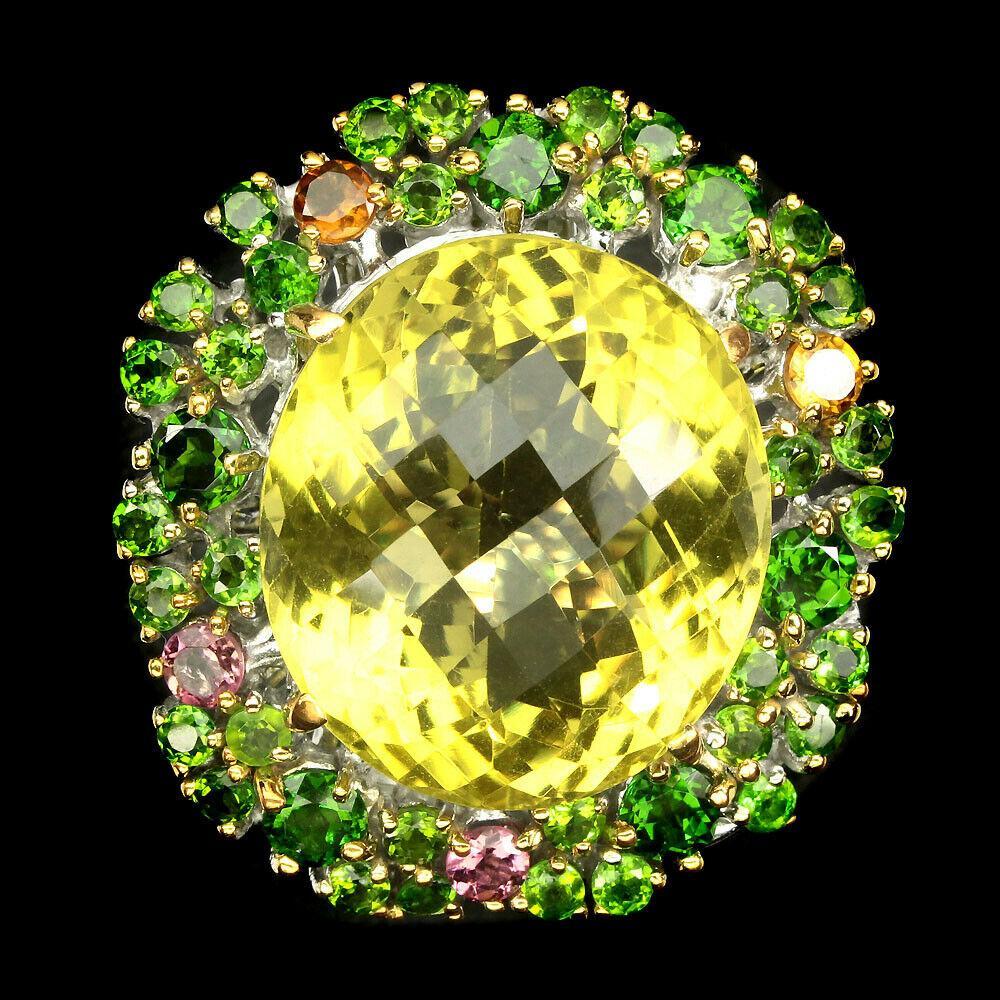 Большое серебряное кольцо  Размер 19.5