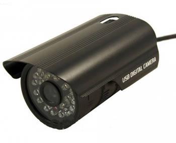 Цветная камера видеонаблюдения CAMERA USB PROBE L-6201D