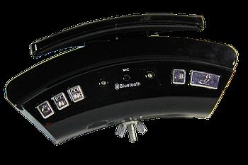 Автомобильная беспроводная Bluetooth гарнитура WS-128 с зажимом для руля