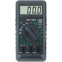 Мультиметр тестер вольтметр амперметр DT 181, фото 3