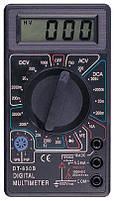 Мультиметр тестер с защитой от перегрузок DT 830B, фото 6