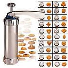 Кондитерский шприц пресс для печенья с насадками Biscuits А70, фото 4