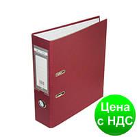 Регистратор LUX одност. JOBMAX А4, 50мм PP, бордовый, сборный BM.3012-13c