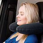 Надувная подушка велюровая для путешествий Intex 68675SH 33*25*8 см, фото 2