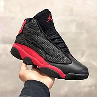 Модные Мужские Кроссовки Nike Air Jordan черные Качество Трендовые Найк Эйр Джордан реплика 40 41 42 43 45р