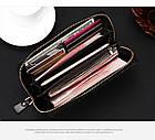 Мужской кошелек портмоне - клатч ALLIGATOR bag ZQ850   Черный, фото 7