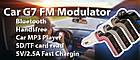 Автомобильный FM модулятор Car G7 с зарядкой для телефона от прикуривателя, фото 8