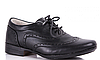 Туфли школьные  черные на мальчика B&G
