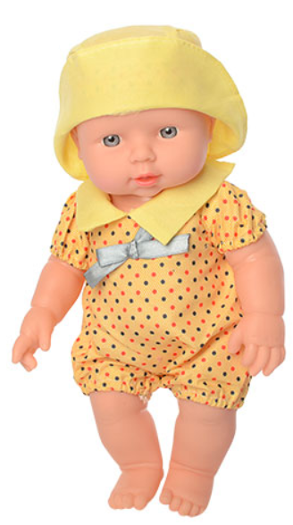 "Пупс ""Малюки"" в желтой одежде и панамке 212-X-216-X LIMO TOY"