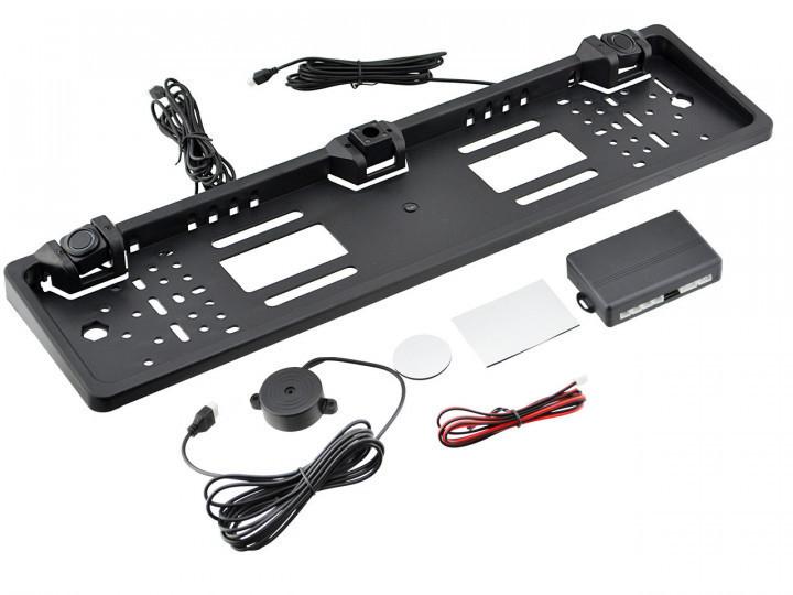 Рамка для номерных знаков 2 Sensor MD для парктроника