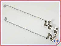 Петли для Lenovo G570, G570A, G575 (AM0G000100 + AM0GM000200). Пара. Левая + правая.