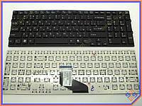 Клавиатура для SONY VPC-F219FC, VPCF217, VPCF219 Series ( RU Black ). Оригинал.