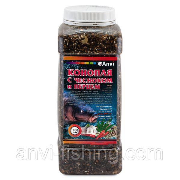 Anvi Зерновая смесь - Конопля с чесноком и перцем - 1 кг
