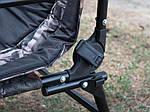 Карповое кресло Palladium carp - Камуфляж, фото 7