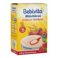 Bebivita  Milchbrei Erdbeer-Himbeer Sparpackung - Молочная каша, клубника, малина с 6 месяцев 600 г