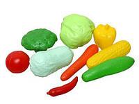 Набор овощей, 10 предметов, в сетке KW-04-476 sco