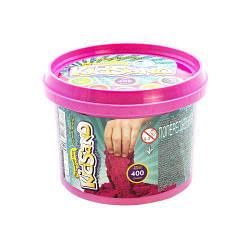 """Кинетический песок """"KidSand"""", розовый, 400г  sco"""