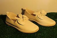 Балетки, мокасины, туфли эспадрильи женские, подростковые  с ушками Ok Shoes, фото 1
