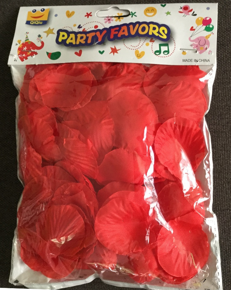 Лепестки роз искусственные 150 гр