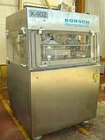 Б/у таблеточный пресс KORSCH модель PH800/77 компрессионная сила 80KN производительность 997,920 таблеток/час