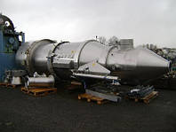 Б/у сушка в кипящем слое GLATT модель WST/G 500 объем 12.5м3 рабочее давление 10 атм