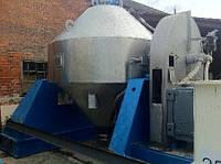 Б/у вакуумная сушилка PFAUDLER-BALFOUR синяя эмаль привод 22кВт, Сушилка вакуумная галтовочная PFAUDLER-BALFOUR L1083-01