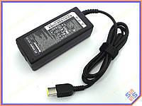 Блок питания для Lenovo G40-70, G405, G50, G50-30, G50-45, G50-70, G50-80, Z70 (20V 3.25A 65W (USB+pin)). OEM. Прямоугольный желтый.