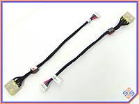 Разъем питания ноутбука Lenovo Ideapad G500S, G505S, G510S, Z501 Series (USB+pin) с кабелем.