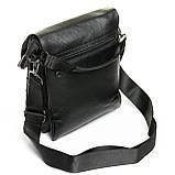 Сумка планшет с клапаном иск-кожа DR. BOND 315-2 black, фото 3