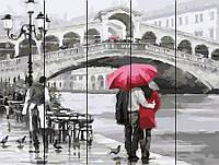 Картина по номерам по дереву Rainbow Art У моста Риальто, 40х50 (RA0044)