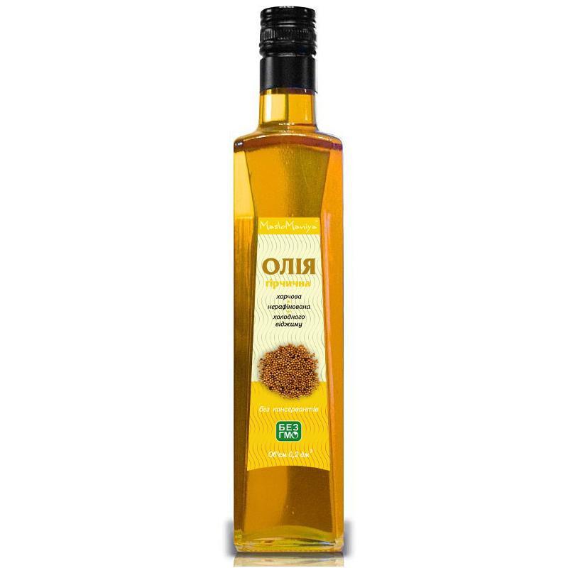 Горчичное масло 500 мл. 100 %