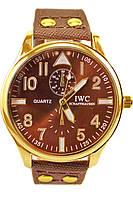 Мужские кварцевые наручные часы IWC Schaffhausen на ремешке из полиэстера, фото 1