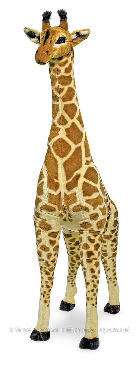 Мягкая игрушка Плюшевый жираф Melissa&Doug