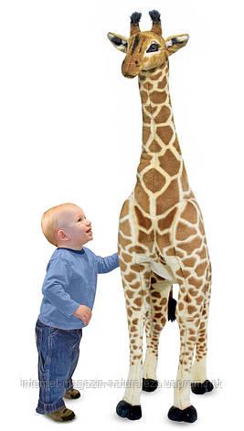 Мягкая игрушка Плюшевый жираф Melissa&Doug, фото 2