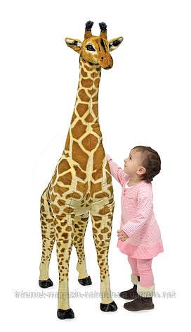 Мягкая игрушка жираф плюшевый Melissa&Doug, фото 2