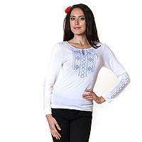 Вышитая футболка Мережка с длинным рукавом, фото 1