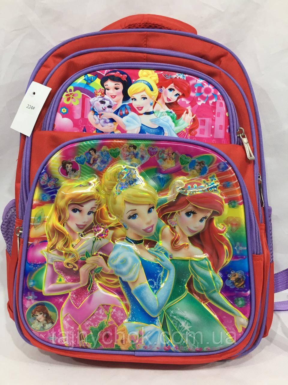 Рюкзак школьный лаковый