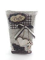 Ваза для цветов высокая Coffe