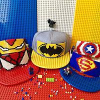 Детская кепка-конструктор для LEGO, к-кт для СуперГероя, фото 1